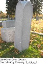 Courjane1915headstone