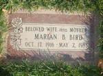 Bricmari1983marian_bricker_birdheadstone